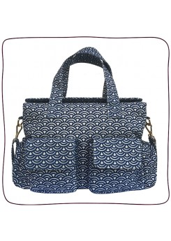 Baby Bag Anne Wave Azul