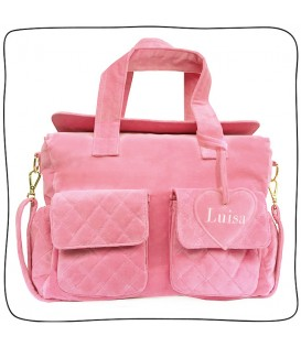 Baby Bag Anne Rosa Chiclete
