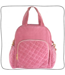 Baby Bag Trio Rosa Chiclete
