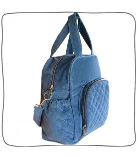 Baby Bag Trio Azul