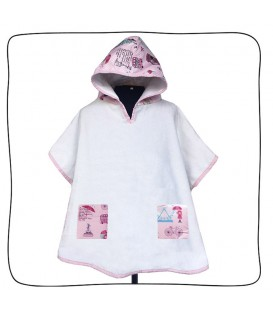 Poncho London Girls - 1 a 3 anos