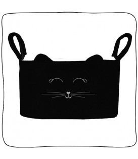 Organizador Slim Plush Preto - Cat Lover